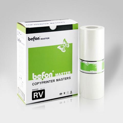 得印befon RV版纸 B4  适用于理想 RV2450/2460/2490/230/2560/2590/3560/ES2561C/2591C/3561C   注;ES系列版纸可用于RV系列版纸