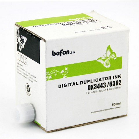 得印befon DX3443油墨  适用于理光DX3443C油墨 理光油墨 3443油墨 DX3443C DX3443油墨