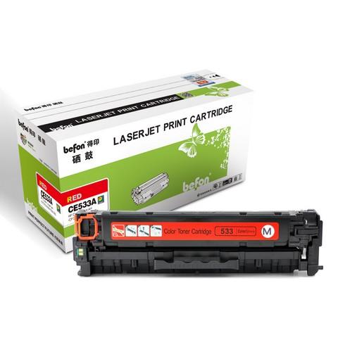 得印 CB543A硒鼓  红色 适用于惠普HP 1215 1515 1312 1518 硒鼓