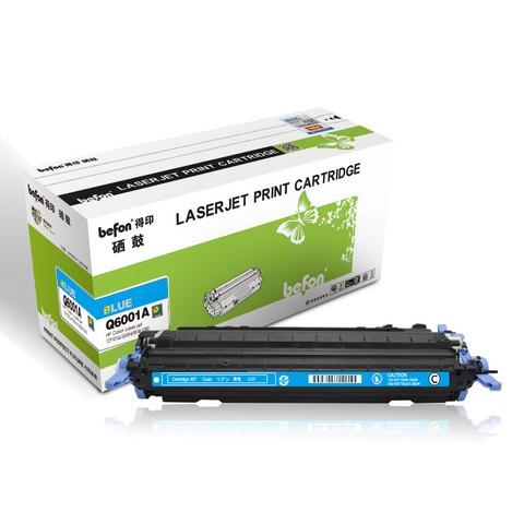 得印 Q6001A 蓝色硒鼓  适用于惠普HP1600 2600n 2605 CM1015硒鼓
