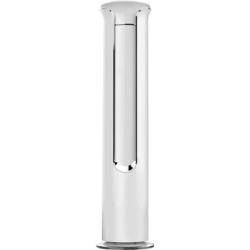 奥克斯(AUX)3匹 定速 冷暖 二级能效 白色 微联智能圆柱空调柜机 (KFR-72LW/R1TC01+2)