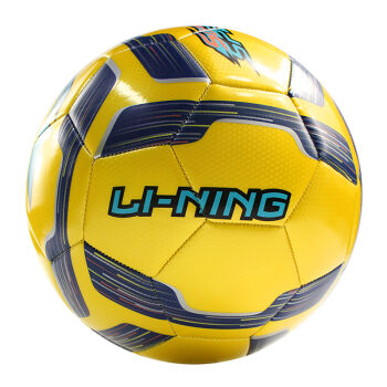 李宁LI-NING足球成人青少年训练比赛足球 机缝训练足球035-2