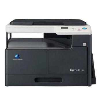 柯尼卡美能达bizhub185e 柯美A3黑白激光复印机打印扫描办公与7818e同款