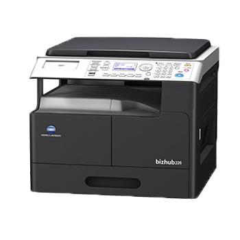 柯尼卡美能达bizhub206复合机黑白激光A3复印机(复印打印扫描)