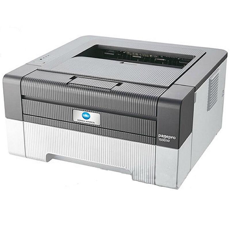 柯尼卡美能达pagepro1550DN黑白激光数码复印机A4柯美万博官网manbetxapp(双面打印) 主机