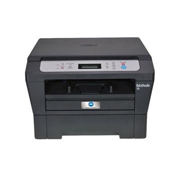 柯尼卡美能达bizhub15黑白激光多功能A4打印一体机复印机 bizhub15