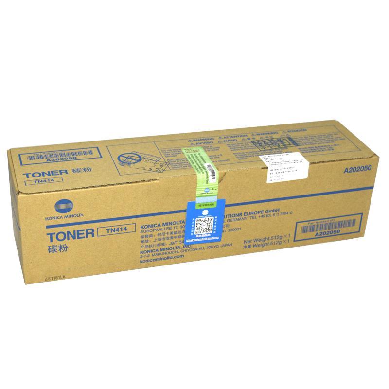 柯尼卡美能达 TN414 碳粉盒  适用机型 BH426/423/BH363 黑色(512g)