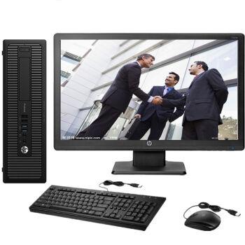 惠普 HP EliteDesk 800 G2 SFF 小机箱商用办公 I5 6500 4G 500G DVD WIN10