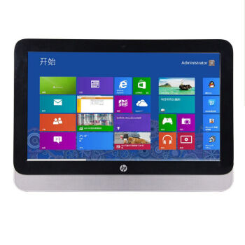 惠普(HP)ProOne 400 G2 AiO 20英寸一体机电脑 商用办公 G3900 4G 500G 无光驱 Win10