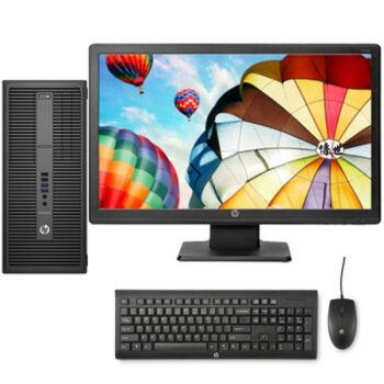 惠普(HP)EliteDesk 800 G2 TWR 商用 办公高端台式电脑  I3 6100 4G 500G WIN10DVD刻