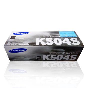 三星(SAMSUNG)CLT-K504S 黑色墨粉盒 适用机型:CLP-415N 4195 K504S (2500页)