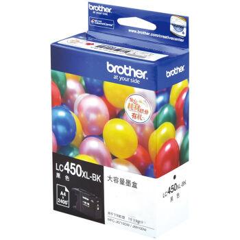 兄弟(brother)LC450XL-BK黑色墨盒(适用于:MFC-J6710DW、J5910DW、J6910DW )