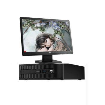 惠普 HP ProDesk 600 G2 SFF 纤小型 商用台式机电脑 I3-6100 4G 500G DVD WIN7