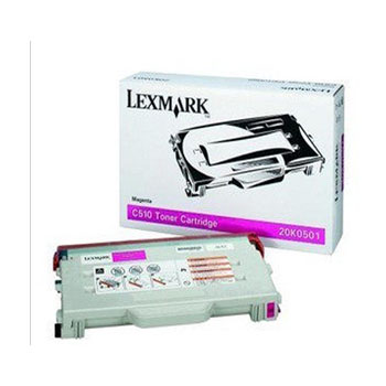 利盟(Lexmark)C510 红色碳粉盒 20K0501