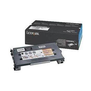 利盟(Lexmark)C500H2KG 黑色碳粉盒 C500N粉仓