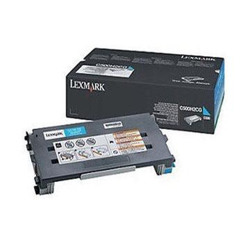 利盟(Lexmark)C500H2CG 青色碳粉盒 C500N粉仓