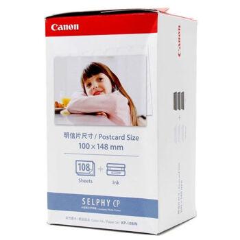 佳能KP-108IN 6英寸相纸色带组合CP1200 CP910照片万博官网manbetxapp相纸