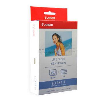 佳能 KL-36IP彩色墨水/纸张组合5英寸L尺寸 CP1200/CP910相纸