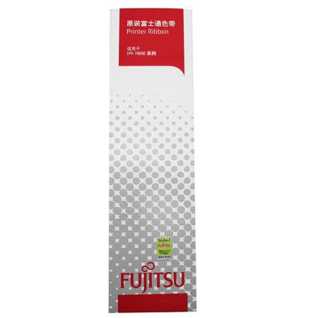 富士通(Fujitsu)DPK7600E 原装黑色色带   适用于DPK7600E系列