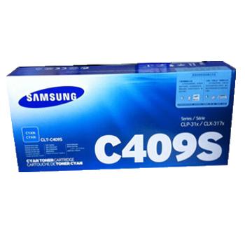 三星(SAMSUNG)CLT-409C S蓝色粉盒 适用CLX-3175/3170 CLP-315W/310N墨粉盒