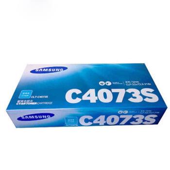 三星(SAMSUNG)CLT-4073S 蓝色墨粉盒 适用CLP326/321N CLX3186/3186N/3186FN3185