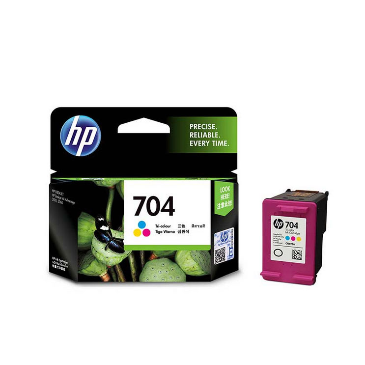 惠普(HP)CN693AA 704号彩色 墨盒(适用Deskjet 2010 2060 )