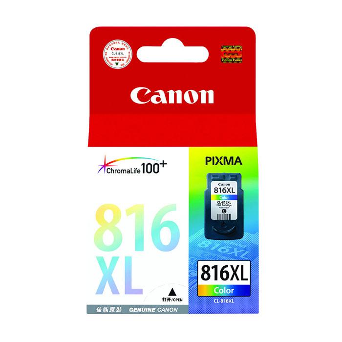 佳能(Canon)CL-816XL 彩色大容量墨盒(适用IP2780 2788 MP 236 288 259 498 MX348 358 368 418 428 )