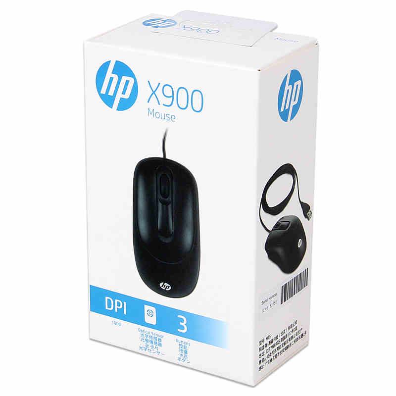 惠普HP X900 有线 鼠标
