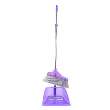 美丽雅 紫旋风组合套扫 扫把簸箕套装