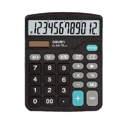 得力(deli)838计算器