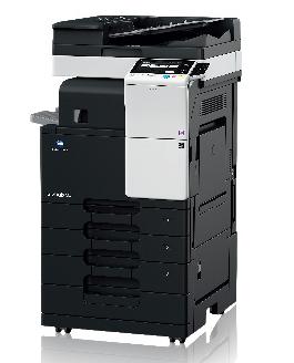 柯尼卡美能达bizhub287复合机黑白激光数码多功能A3柯美复印机(复印打印扫描 287(双纸盒+网卡) 标配