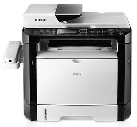 理光SP 320SFN 黑白激光多功能万博官网manbetxapp一体机 复印机(复印/扫描/双面打印/传真)