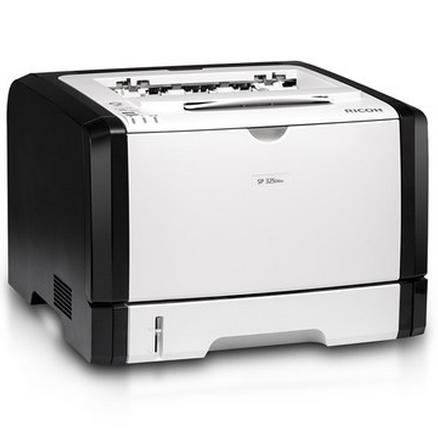 理光SP 325DNw黑白激光无线网络万博官网manbetxapp wifi自动双面打印A4商用