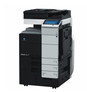 柯尼卡美能达bizhub758 A3黑白多功能数码复合机 复印机+FS536SD排纸处理器