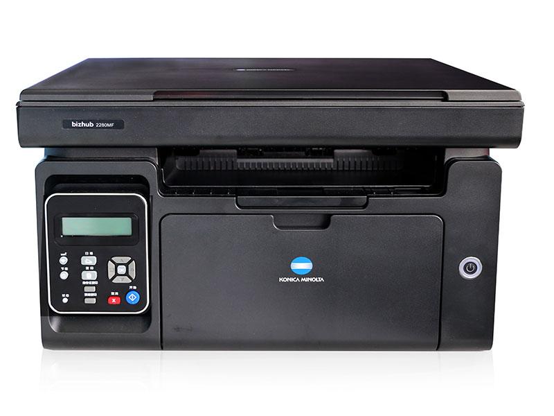 柯尼卡美能达bizhub2280MF黑白激光柯美一体机复印机 复印打印扫描 2280MF 主机