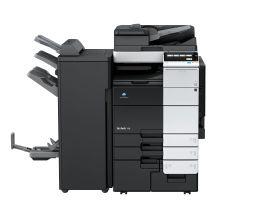 柯尼卡美能达bizhub758复合机黑白激光数码多功能A3复印机(主机+四纸盒)