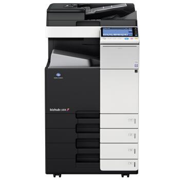 柯尼卡美能达bizhub C266彩色激光A3多功能复合机 复印机 复印打印扫描 (双面器 双纸盒 网卡) 主机