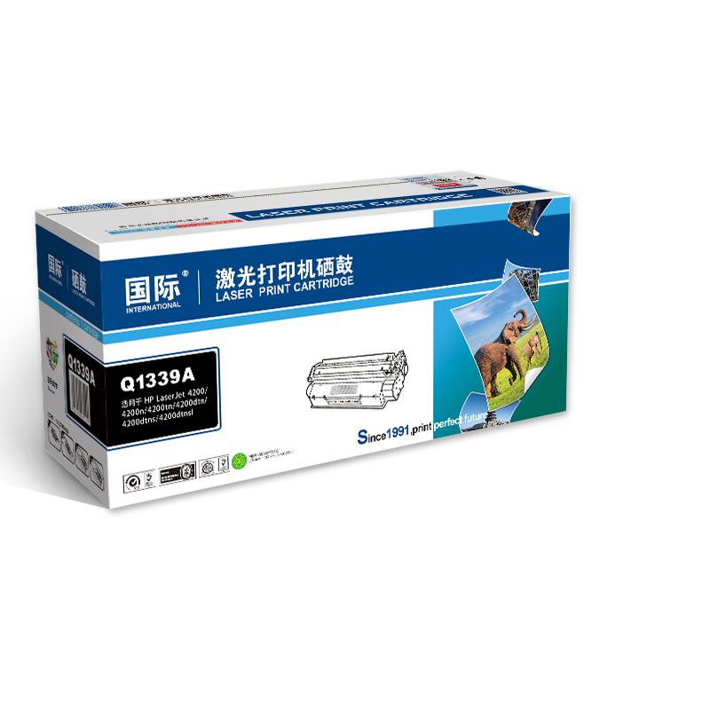 国际 Q1339A硒鼓(适用HP惠普 LaserJet 4300/4300n/4300tn/4300dtn/4300dtns/4300dtnsl硒鼓)