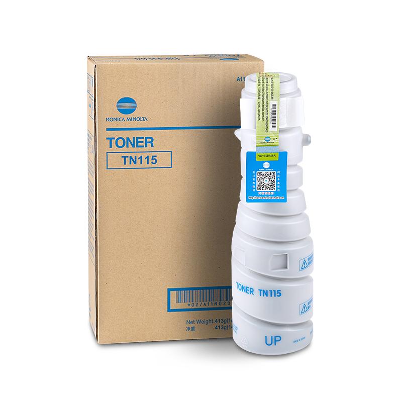 柯尼卡美能达 TN115 碳粉 复印机 163v/7616v墨粉柯美粉盒(413g)
