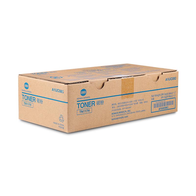 柯尼卡美能达TN117H 碳粉BH164/184/7718/185/7818 粉盒 墨粉(281.5g)