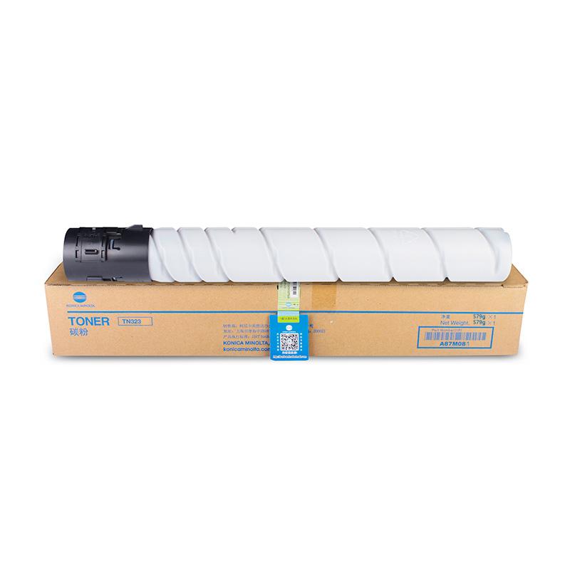 原装柯尼卡美能达TN323H碳粉 高容 柯美 BH227/287/367/7528复印机粉盒 TN323H 大容量 打印约23000页(570g)