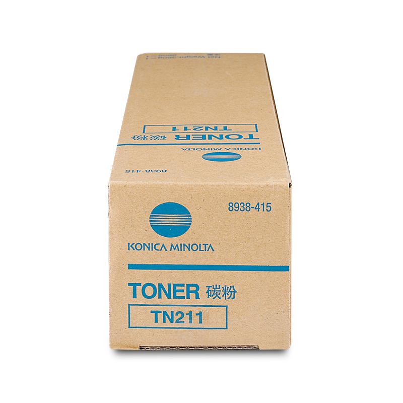 柯尼卡美能达 TN211碳粉 200/250/282复印机专用墨粉盒(360g)