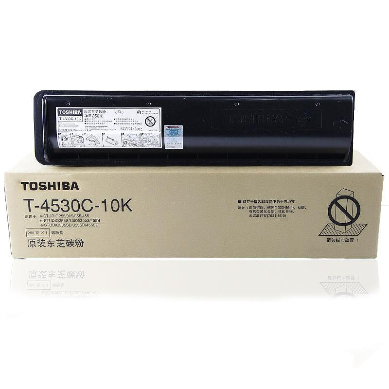 东芝(TOSHIBA)T-4530C-10K碳粉 适用255/305机型