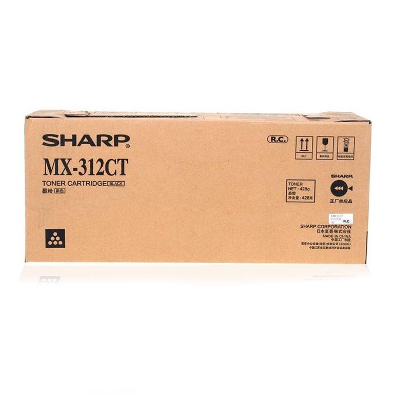 夏普(Sharp) MX-312CT 粉盒 M261 M311 2608 3108 3508 N U 碳粉  墨粉(428g)
