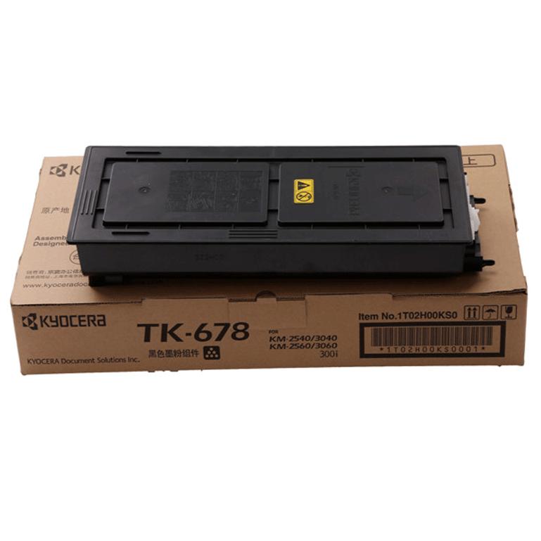 京瓷(kyocera)TK-678 墨粉 2540 3040 3060 300i 2560 3060粉盒 碳粉