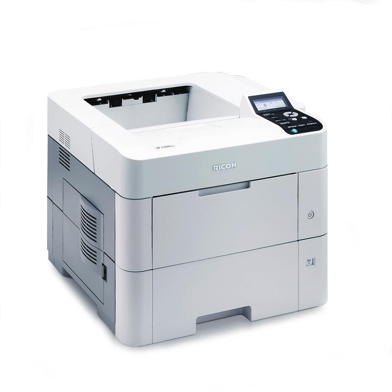 理光SP 5310DN黑白激光高速万博官网manbetxapp  ( A4自动双面打印有线网络打印 60页/分 )