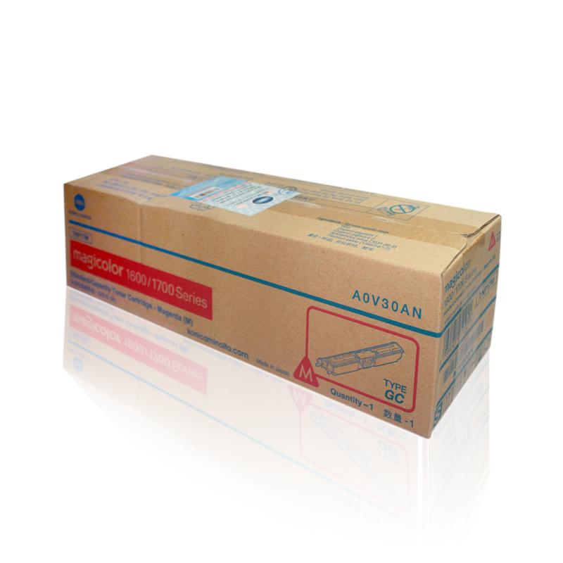 柯尼卡美能达1600M 红色碳粉墨粉盒1650EN/1680MF/1690MF/1700w墨粉盒(1.5k)单支