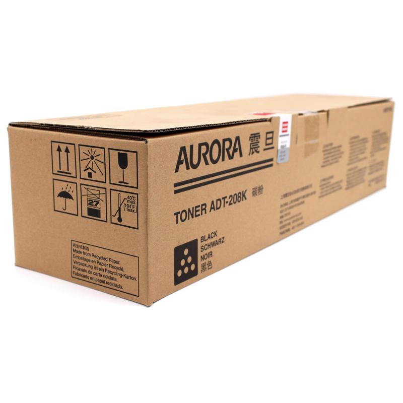 震旦(AURORA)ADT-208K 黑色 粉盒粉 墨粉 ADC208/218