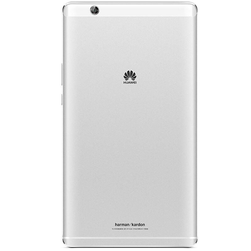 华为(HUAWEI)M3 8.4英寸通话平板电脑(2K高清屏 麒麟950 哈曼卡顿音效 4G/32G LTE)皓月银