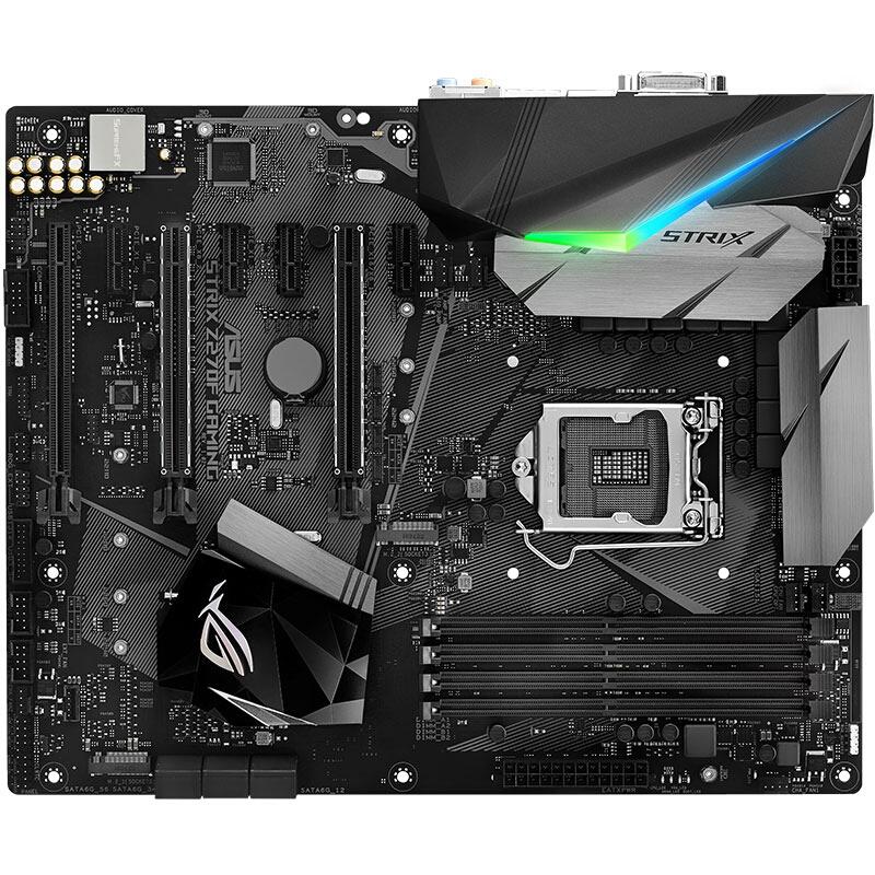 华硕ROG STRIX Z270F GAMING 主板+英特尔酷睿四核I7-7700 盒装CPU处理器